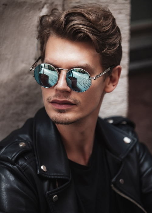 Midnight Warrior Sunglasses Blue