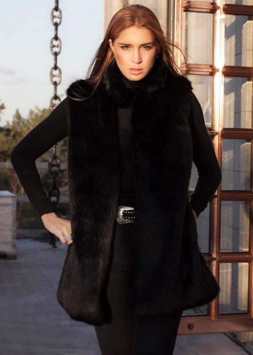 Faux Fur Black