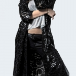 party dress Midnight Warrior Kimono