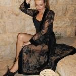 La Nuit Kimono black
