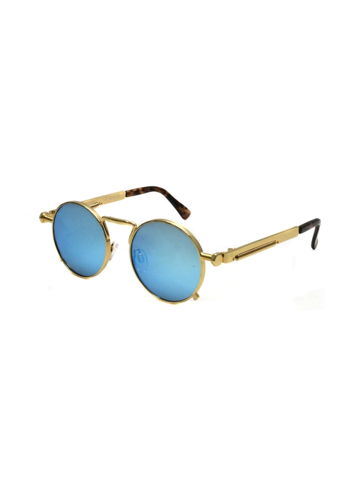 Midnight Warrior Sunglasses Small Blue